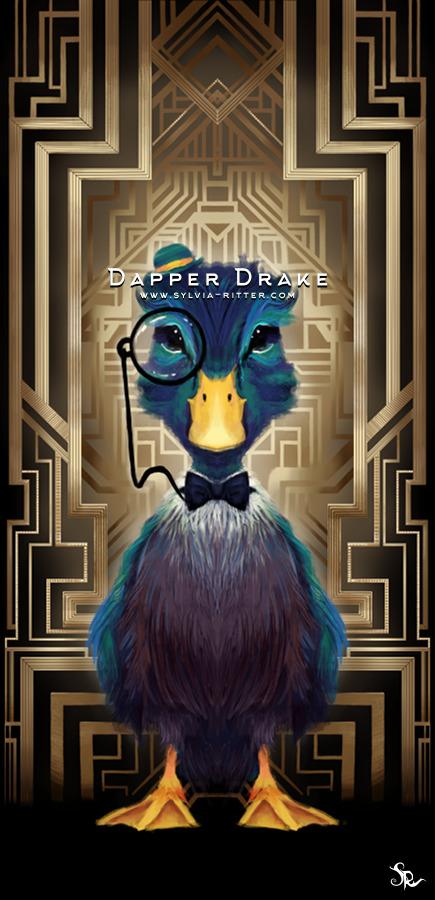 Dapper Drake Art