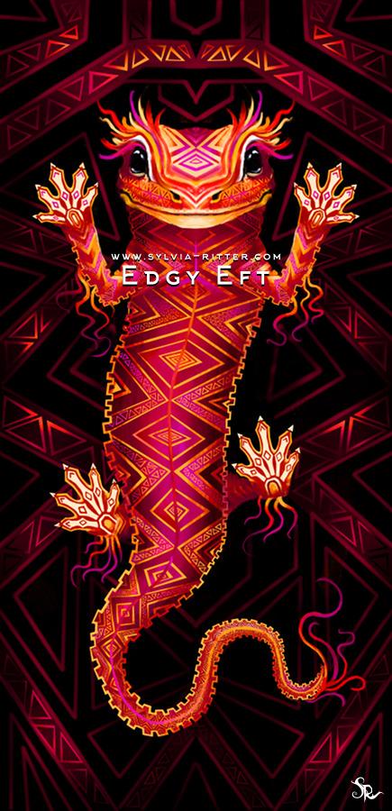 Edgy Eft Art