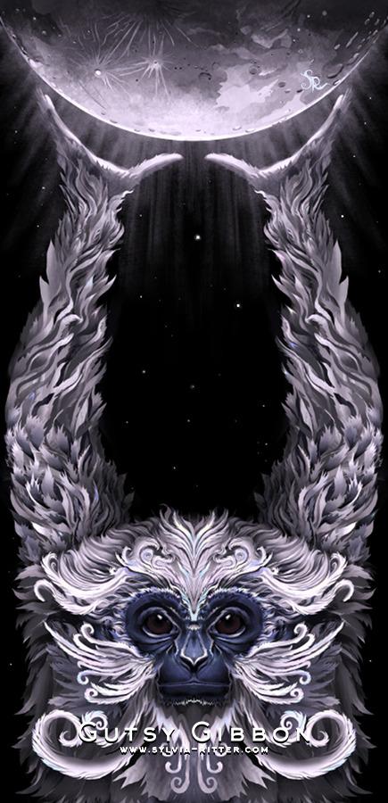 Gutsy Gibbon Art
