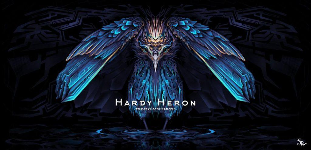 Hardy Heron Art