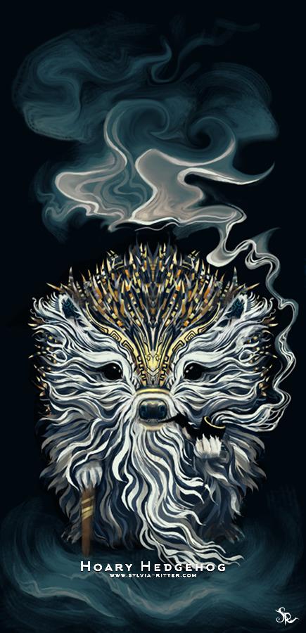 Hoary Hedgehog Art