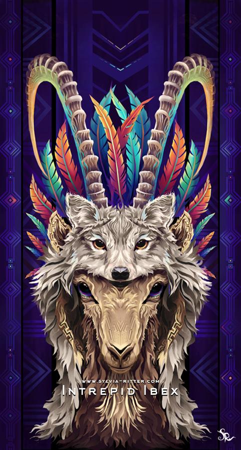 Intrepid Ibex Art