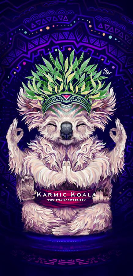 Karmic Koala Art