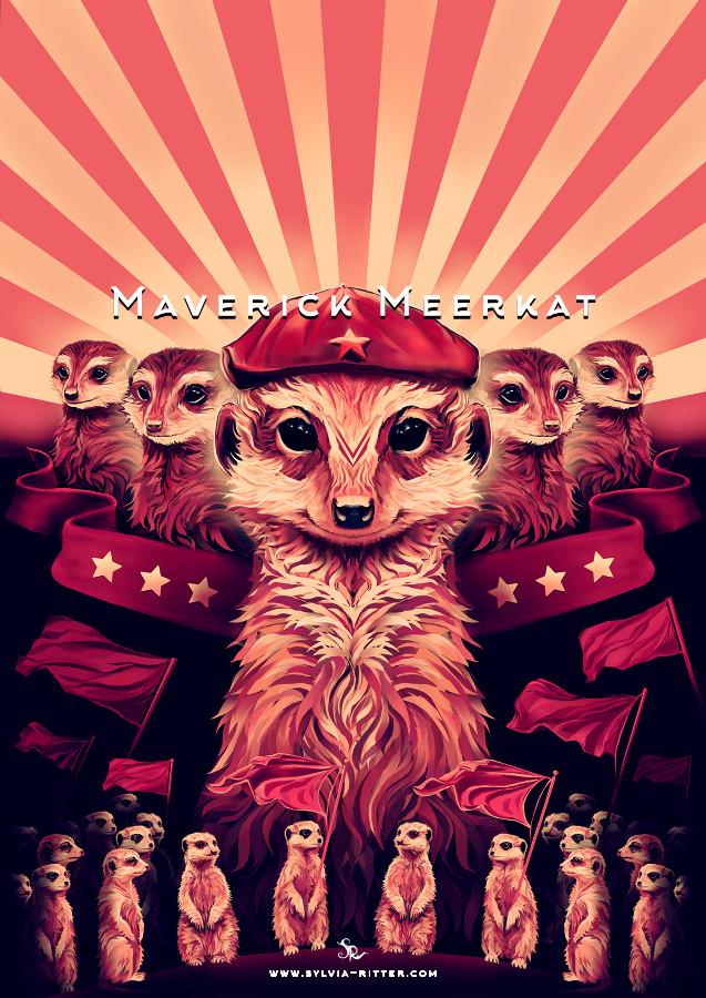 Maverick Meerkat Art