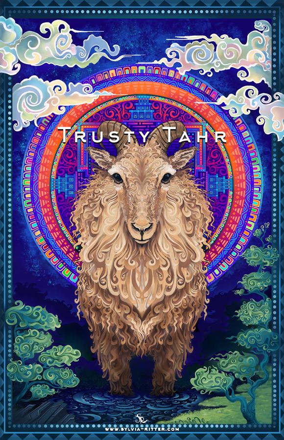 Trusty Tahr art