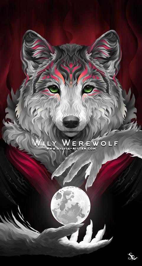 Willy Werewolf Art