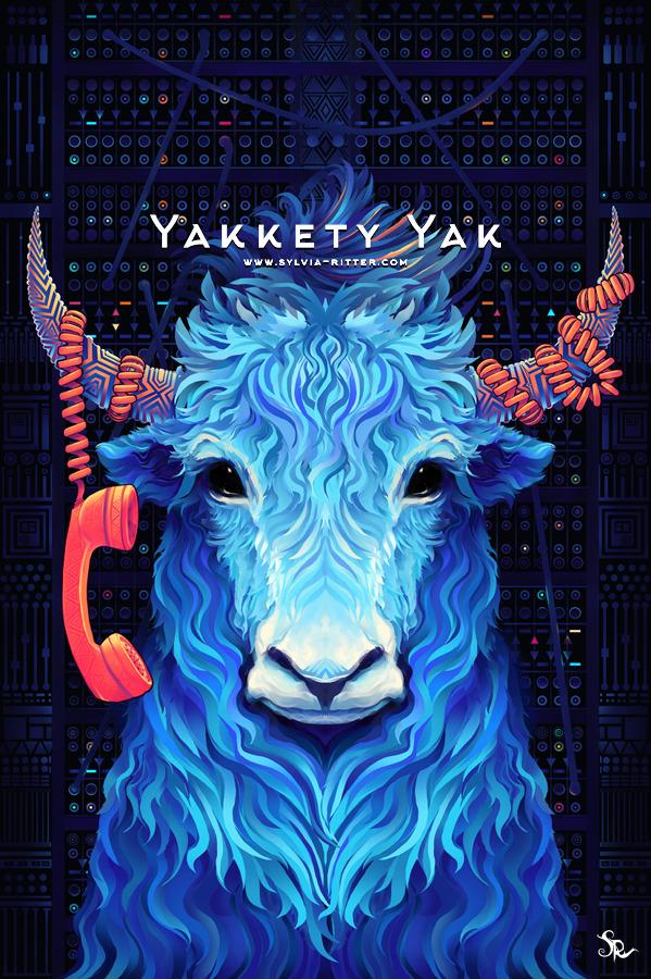 Yakkety Yak Art